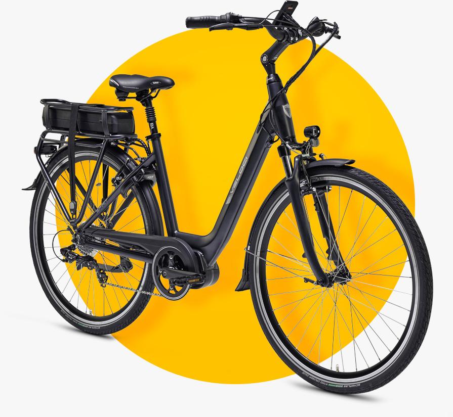 Elektrische fiets met middenmotor 2020 Veloci
